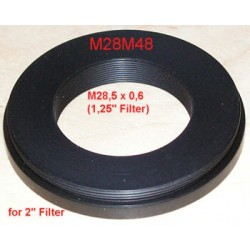 "Adaptor M28 (filet intern 1,25"") la M48 (filet extern 2"")"