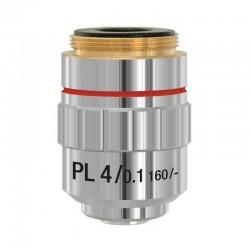 Obiectiv plan 4x pentru microscoape Lacerta seria Infinity