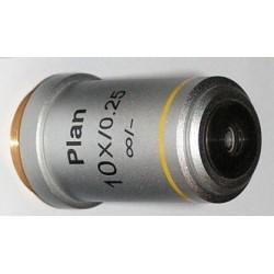 Obiectiv plan 10x LWD pentru microscoape Lacerta seria Infinity