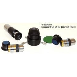 Set de obiective pentru microscop cu contrast de fază (Plan10Ph și Plan40ph)