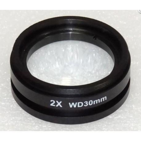 Lentilă de conversie microscop cu putere de mărire 2.0x
