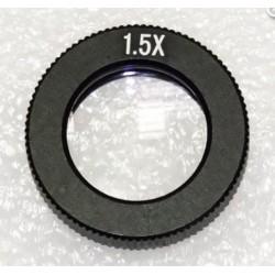 Obiectiv de conversie pentru microscoapele INDc1d, cu putere de mărire 1,5x
