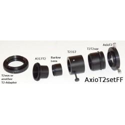Set adaptor Zeiss AxioLab.A1 tub foto la camere foto DSLR fullframe