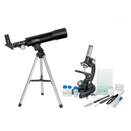 Set pentru copii Telescop + Microscop National Geographic