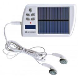 Încărcător solar Bresser cu MP3/FM