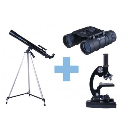 Set Opticon ScienceMaster Telescop + Microscop + Binoclu