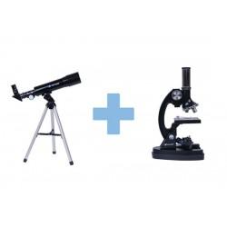 Set pentru copii Telescop+microscop OPTICON Multiview