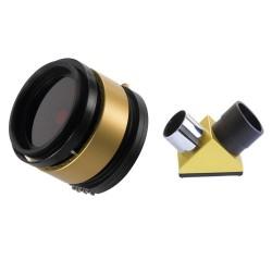 Set filtru SolarMax II 90mm și filtru de blocare de 15mm