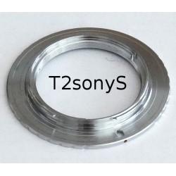 Adaptor T2 scurt pentru camerele foto Sony/Minolta